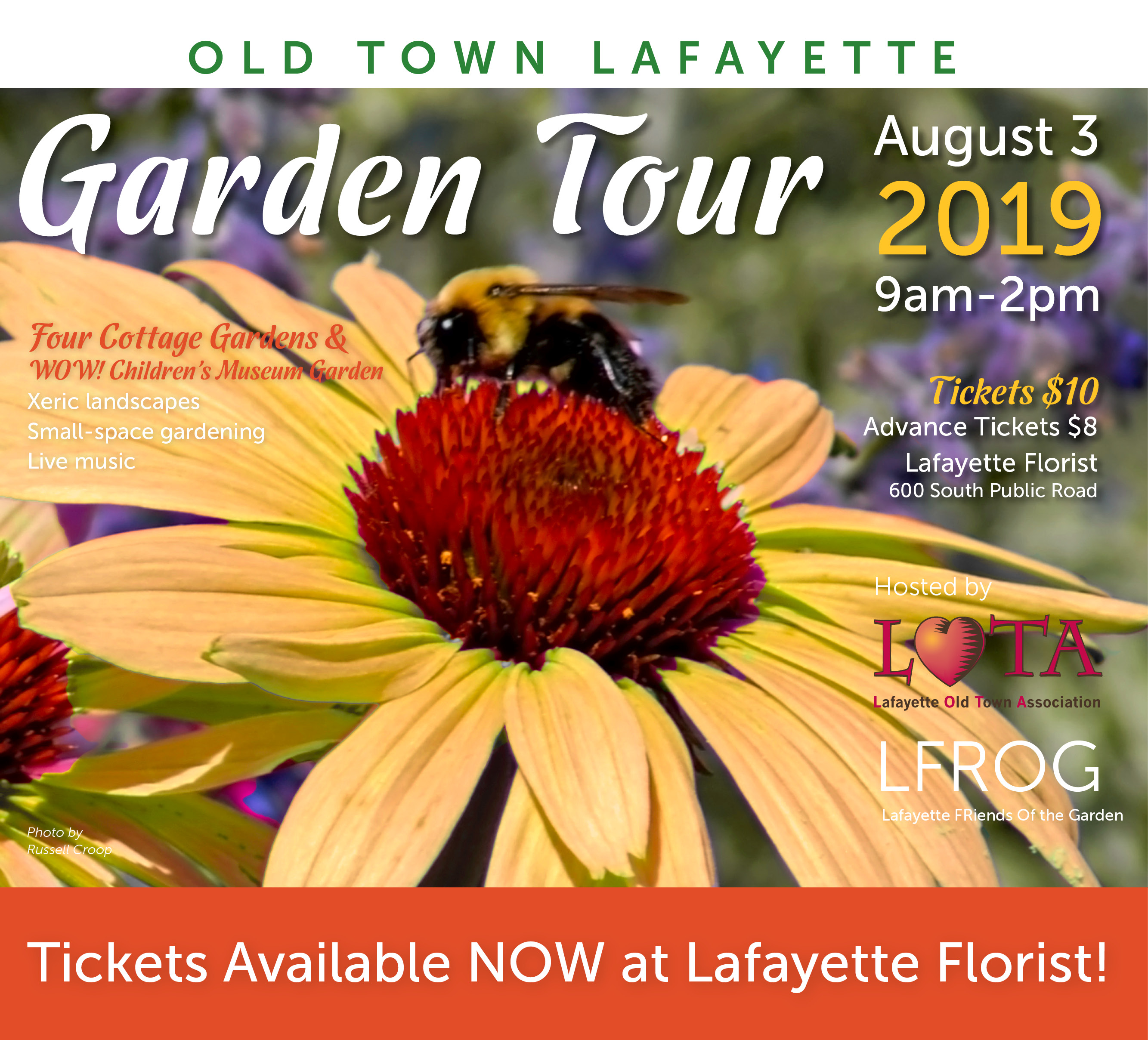 FB GardenTour19 Ad2Tickets